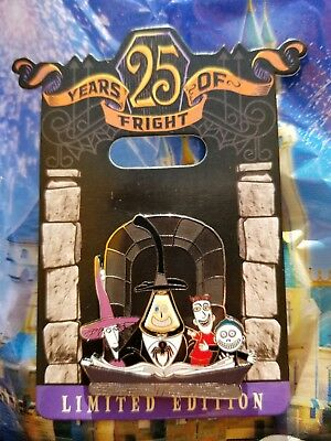 Disney Nightmare Before Christmas 25 Years Of Fright Mayor Lock Shock LE Pin