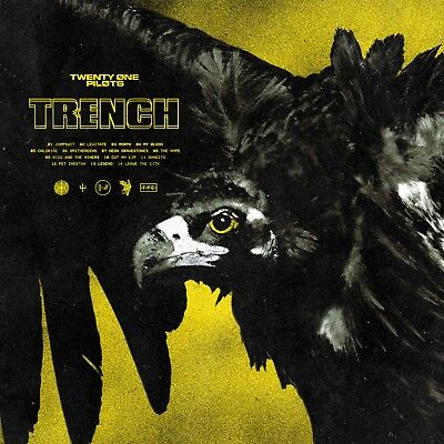 Twenty One Pilots TRENCH +MP3s LIMITED New Sealed Olive Colored Vinyl 2 LP