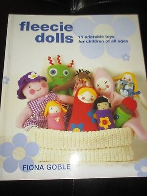 FLEECIE DOLLS 15 ADORABLE TOYS For ALL AGES Sewing PATTERN BOOK - 2008