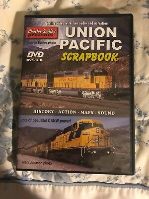 Charles Smiley Presents Union Pacific Vintage Scrapbook DVD, trains, model train