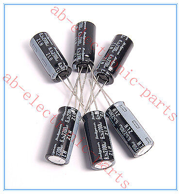 20pcs- 33uf 100v Radial Electrolytic Capacitor 100v33uf 8x12mm Rubycon ZLH