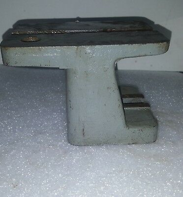 brown & sharpe no 13 universal grinder tool rest, riser block