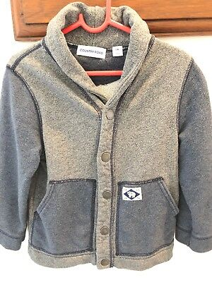 Country Road Boys Casual Jacket Size 4 Soft