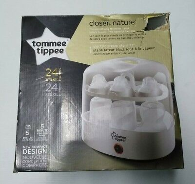 Tommee Tippee Closer to Nature Electric Steam Sterilizer, White