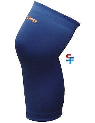 d004c2c1c0 Tommie Copper Men's Recovery Refresh VITALITY Compression Knee Sleeve Blue