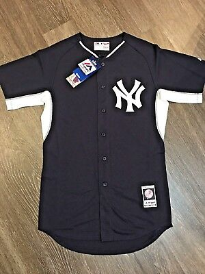 468ac4f9e30 ... low cost mens new york yankees majestic official cool base jersey sz 40  navy no name