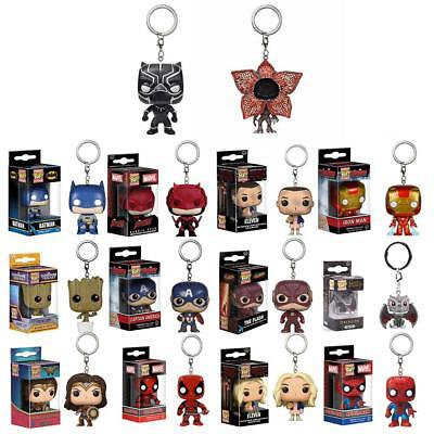 Funko Pocket Pop! Keychain Baby Groot,Superman,DeadPool Vinyl Figure Keyring