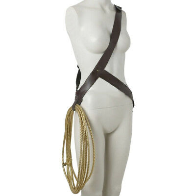 Wonder Woman Diana Prince Costume Rope String + Belt Cosplay Accessories CA FAST