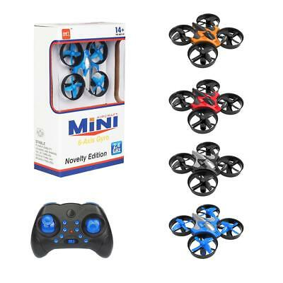2.4G RC Quadcopter Drone With One-button Return To Headless Mode 4-Axis Aircraft