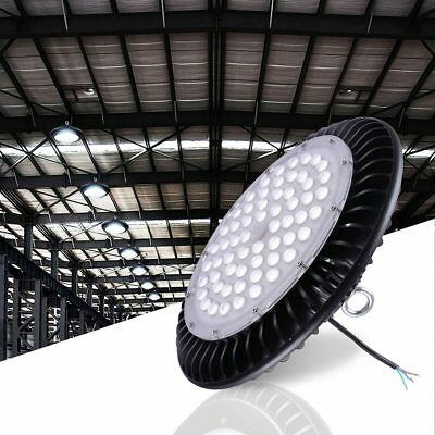 DELight® 200W UFO LED High Bay Light Lamp 24000lm Commercial Industry Factory