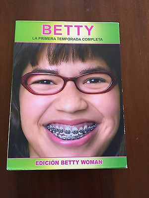 Betty Season 1 Complete - Ed Betty Woman - 6 Dvd With Extras - 945 Min