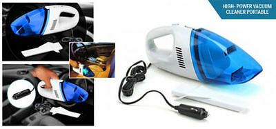 New 2 X 12V Portable Vacuum Cleaner With Filter Car Plug In Handheld Hoover