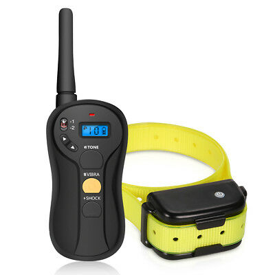 Focuspet Waterproof Rechargeable Digital Anti-Bark Dog Training Collar No Bark
