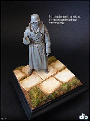 Built & Painted Diorama Base (12cm), 1:16 (120mm) Pavement section