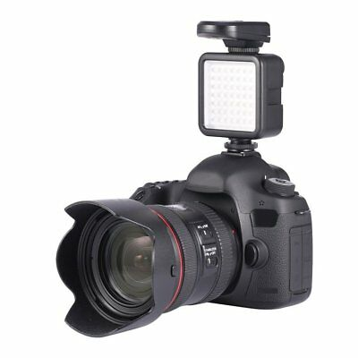 49 LED Video Light Lamp Photographic Photo Lighting for Camera Photography QZ