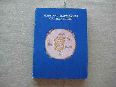 MAPS AND MAPMAKERS OF THE AEGEAN, English Version, 1985, Neuwertig