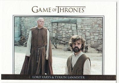 Game Of Thrones Staffel 6 Relationships Gold #31 Lord Varys & Tyrion 159/250