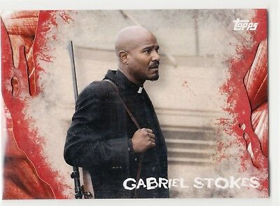 2016 Walking Dead Survival Base Variation Karte #23 Gabriel Stokes
