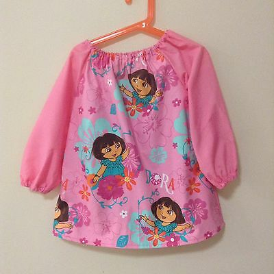 Dora Art Smock 4-7 With  Thermal Backing For Extra Protection