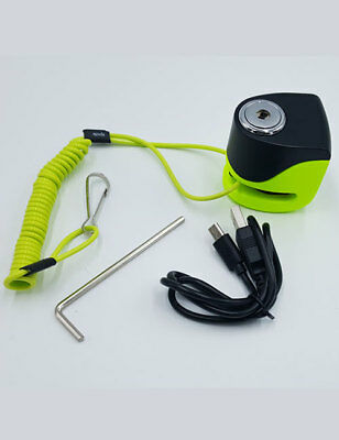 Golf Cart Audible Alarmed Security Lock & Steel Looped Cable $79 Delivered