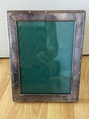 Antique Silver Photo /  Picture Frame - Harrods