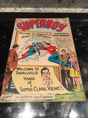 SUPERBOY 107 1963 DC Comic Nice! Welcome To Smallville