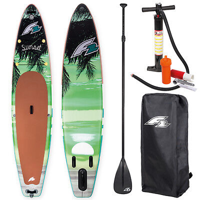 "F2 Sup Sunset 10,5"" 2018 Stand Up Paddle Board Aufblasbar ~ Testboard"