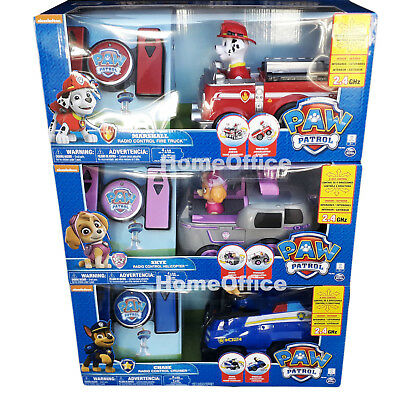 Paw Patrol Remote Control Rescue Racer Chase, Skye Or Marshall
