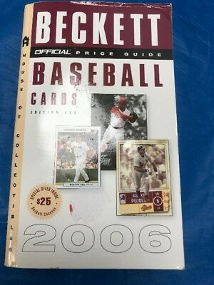 """The Official Beckett Baseball Card Price Guide 26Th Edition  2006 """"Sale"""""""