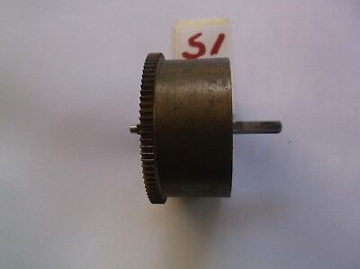 Mainspring Barrel  From An Old 4X4 Westminster Chime  Mantle Clock  Ref S1