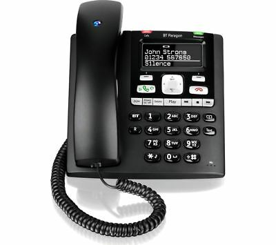 BT Paragon 650 Hands Free Telephone Answering Machine with Headset Port