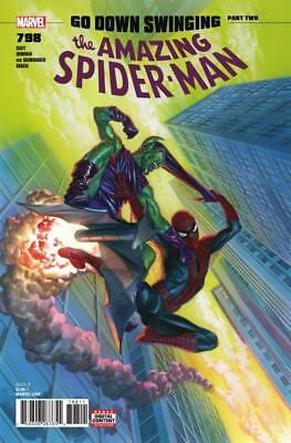 AMAZING SPIDER-MAN # 798 (2018) 1st PRINTING - ALEX ROSS COVER - 1st RED GOBLIN