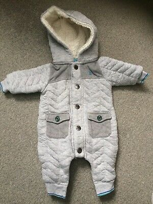 Ted baker baby boy All-in-one coat 0-3  Months Grey