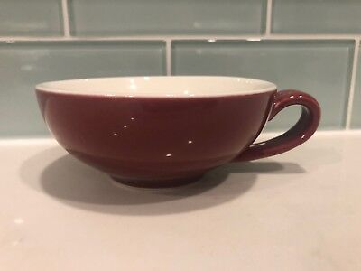 "Davids Tea Mug Dark Pink With White Inside Excellent 2"" Tall"