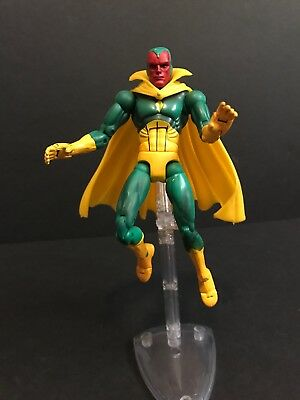 Marvel Legends VISIONLOOSE with Stand- Toy Biz Series 7 VII 2004 Avengers