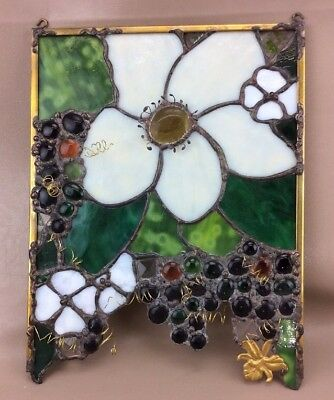 Stained Glass Floral Window Hanging Light Catcher