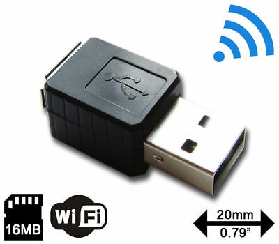 KeyLlama Micro WiFi Keylogger Key Logger - Monitor Computers Remotely - Tiny!