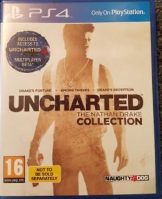 Uncharted The Nathan Drake Collection PS4 Game UK PAL for Sony Playstation 4