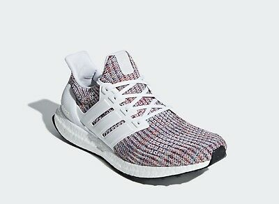 69123f5e00e9f Adidas Running Ultra Boost 4.0 White Multicolor Men Sneaker Gym Shoes New  CM8111