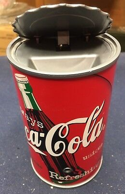 Vintage 1998 Coca Cola Classic Advertising Talking Bank