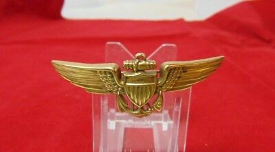 WWII Navy Pilot Wings with Hallmark