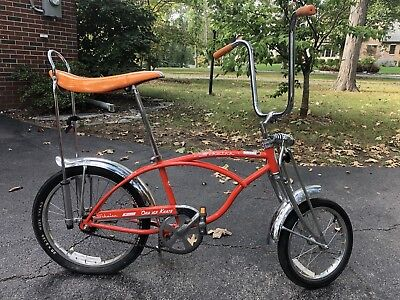 1998-1999 Schwinn Stingray Orange Krate Repop Genuine Schwinn Bicycle Bike