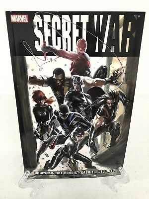 Secret War by Bendis Collects #1-5 & More Marvel TPB Trade Paperback Brand New