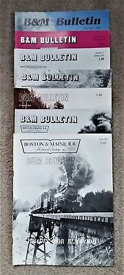 B&M Bulletin - 7 Issues: Fall 1974 to Fall 1983 (See Description)