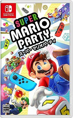 Nintendo Switch Super Mario Party New Product From Japan
