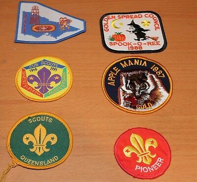 Boy Scouts  Items Mixed Lot