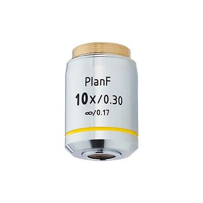 AmScope PF10X-INF 10X Infinity Plan Fluor Objective for Microscopes