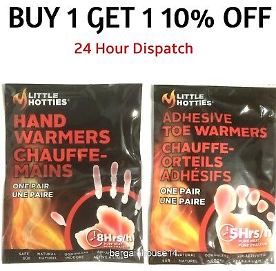 LITTLE HOTTIES Hand Warmers & Foot Warmers Hand Foot Toe warmer Pocket Gloves