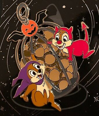 Disney Wdi Chip And Dale Pin Halloween 2017 Le 250 Cast Exclusive Chip N' Dale