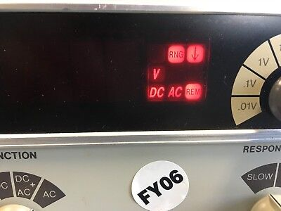 HP - Agilent - Keysight 3403C True RMS Voltmeter